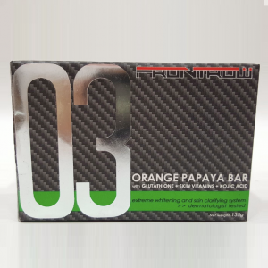 Luxxe Celebrity Soap 03 Orange Papaya Bar